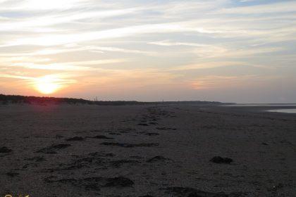 Het strand aan de Noordzee
