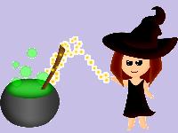 6 Heksen bij elkaar