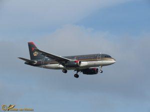 Airbus A319-132 – JY-AYM – Royal Jordanian