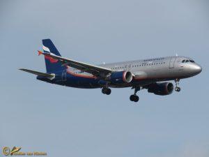 Airbus A320-214 – VQ-BKU Aeroflot – Russian Airlines