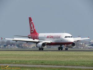 Airbus A320-232 – TC-AGU AtlasGlobal