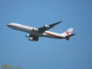 Airbus A340-300 PZ-TCR Surinam Airways
