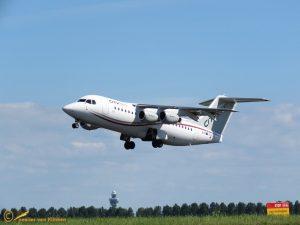 BAE RJ85 Avroliner – EI-RJF CityJet