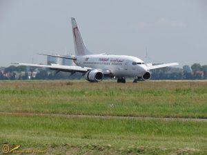 Boeing 737-6H3 - TS-ION Tunisair