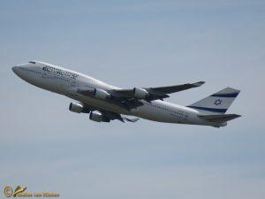 Boeing 747-412 – 4X-ELE El Al Israel Airlines