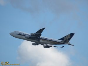 Boeing 747-412FSCD – 9V-SFO Singapore Airlines Cargo