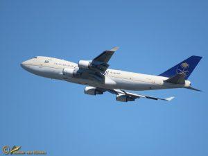 Boeing 747-48EF(SCD) – TF-AMU Saudi Arabian Airlines