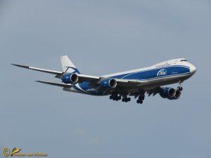 Boeing 747-83Q(F) – VQ-BFU AirBridgeCargo Airlines
