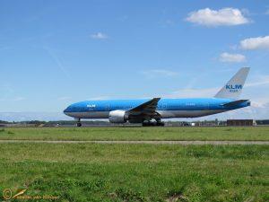 Boeing 777-206(ER) - PH-BQN - KLM