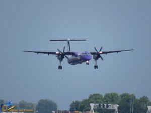 Bombardier Dash 8 Q400 – G-JEDU – Flybe