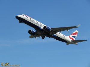 Embraer 190 – G-LCYW British Airways