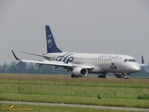 Embraer-ERJ-190 – KLM Skyteam PH EZX Cityhopper