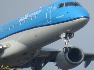 Embraer ERJ-190STD – PH-EXA KLM cityhopper