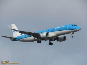 Embraer ERJ-190STD – PH-EXD KLM cityhopper