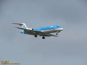 Fokker 70 – PH-KZI KLM cityhopper