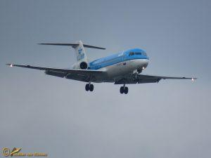 Fokker 70 - PH-KZK KLM cityhopper