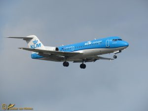 Fokker 70 - PH-KZM KLM cityhopper