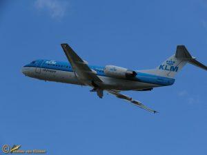 Fokker 70 - PH-KZR KLM cityhopper