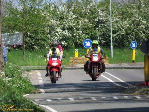 Giro d'Italia Gelderland doorkomst gemeente Brummen 08-05-2016