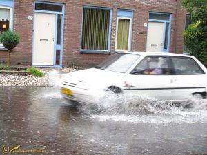 Wateroverlast Eerbeek 06-06-2011